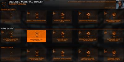 Encoded Material Trader 01