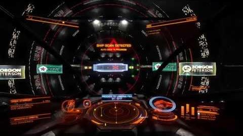 Elite Dangerous - Auto Docking set to Blue Danube