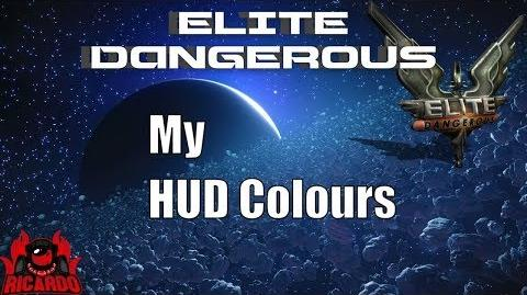 Elite Dangerous - How to change the Hud on PC and my settings