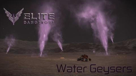 Elite Dangerous - Water Geysers