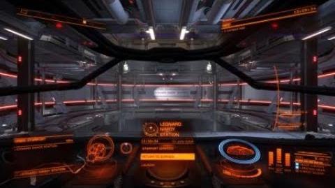 Elite Dangerous 20180610 Landing at Leonard Nimoy Station