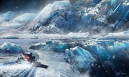 Elite-Dangerous-Ice-Planet-Art