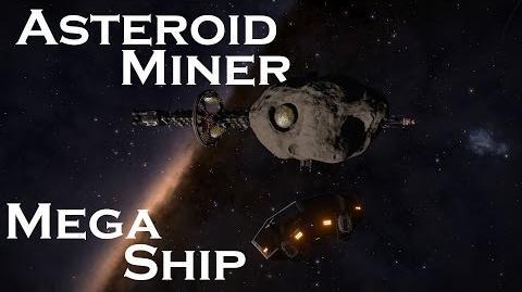 Elite Dangeorus Mega Ship - Asteroid Miner (2.3 Beta)