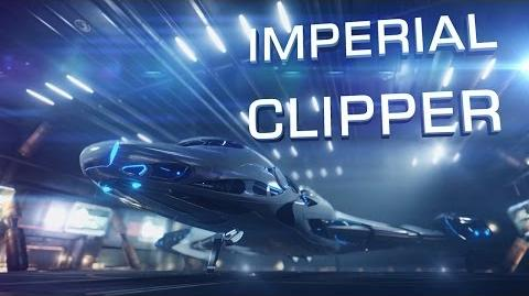 """Introducing Imperial Clipper in """"Need for Speed"""" style - Elite Dangerous Short cinematic"""