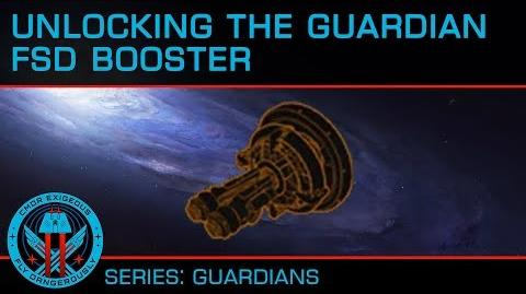 Tutorial- Unlocking the Guardian FSD Booster