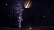 Ice Geyser on Europa