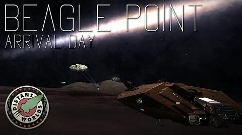 Beagle Point Arrival Day (Distant Worlds 3302)