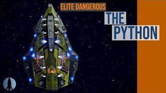 The Python Elite Dangerous