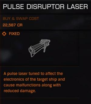 Pulse-Disruptor-Laser
