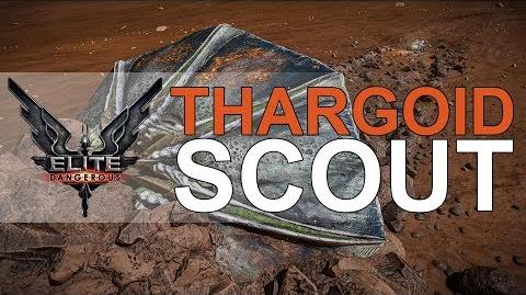 Elite Dangerous Thargoid Scout