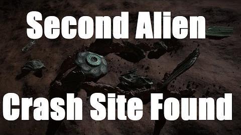 Elite Dangerous - Second Alien Crash Site