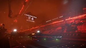 Station Attack interior