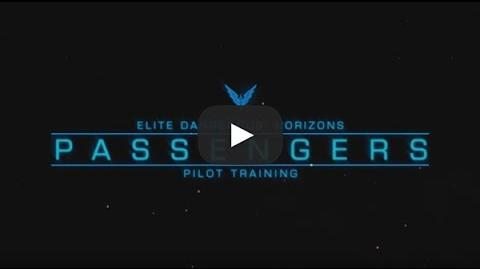 Passengers - Elite Dangerous Horizons Pilot Training
