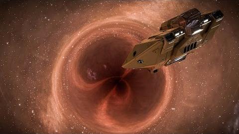 Elite Dangerous Arriving at Sagittarius A*