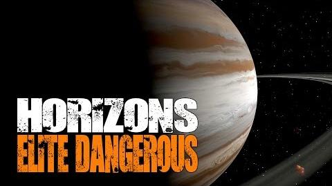 Elite Dangerous Horizons - Tour of The Sol System (Home of Earth) with Landings