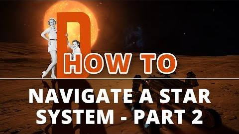 Elite Dangerous Tutorials - How to Navigate a Star System - Part 2