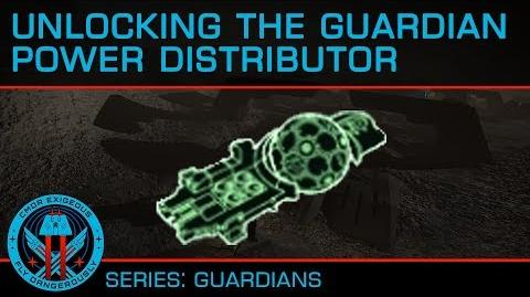 Tutorial- Unlocking the Guardian Power Distributor