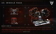 Aegis AX Missile Rack