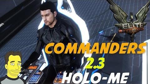 Elite Dangerous Commanders Holo- Me Commander creator