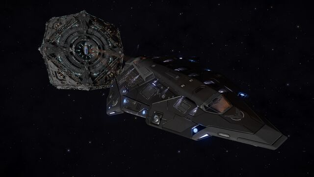 File:E-D Python - Tactical Ice Skin leaving Coriolis Station.jpg