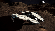 Elite-Dangerous-Beyond-Krait MkII-landed-Planet