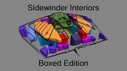 Elite Dangerous - Sidewinder Interiors Boxed Edition