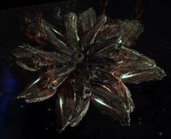 Elite Dangerous Thargoid Ship