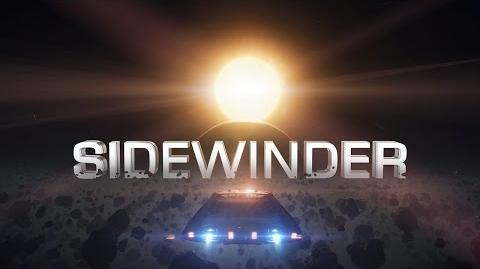 """Introducing Sidewinder in """"Need for Speed"""" style - Elite Dangerous Short cinematic"""