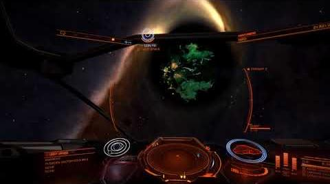 Thargoid Frameshift Portal Stays Open!