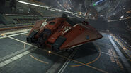 E-D - Asp Explorer - Red Pharao Front Top Coriolis Hangar