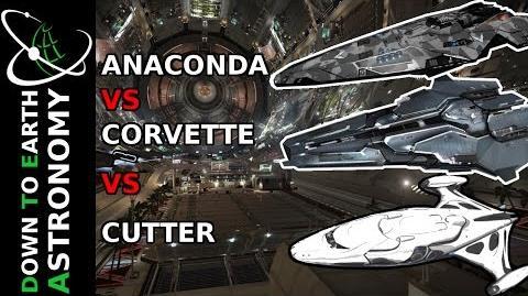 CUTTER VS CORVETTE VS ANACONDA ELITE DANGEROUS