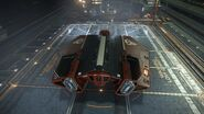 E-D - Asp Explorer - Red Pharao Aft Top Coriolis Hangar