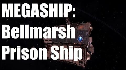 Elite Dangerous - Mega Ship - Bellmarsh Prison Ship