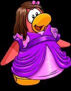 Pavlina in a dress