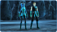Tranquil Ahsoka Male and Female version of the Outfit