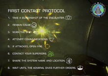 First contact Protocol