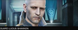 SEF Guard Lucius Shannon Unfriendly Large