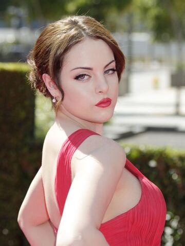 File:Emmy Awards Liz Gillies.jpg