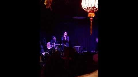 Liz Gillies - Vienna Billy Joel Cover Live @ Genghis Cohen
