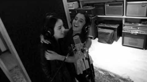 Chestnuts Cover-Elizabeth Gillies and Ariana Grande