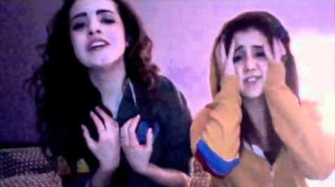 Next To Normal Cover-Elizabeth Gillies with Ariana Grande