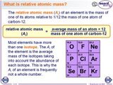 Relative Atomic Mass