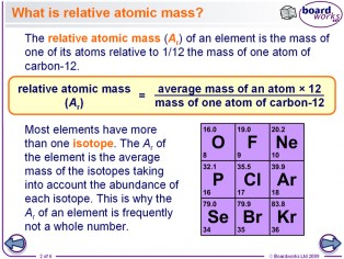 Relative atomic mass ellesmere chemistry wiki fandom powered relativeatomicmass bmasspec the relative atom mass urtaz