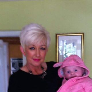 Tracey with her Granddaughter in June 2015