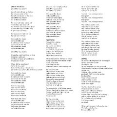 Lyrics for: <a href=
