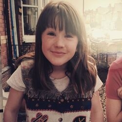 Ellie when she was young