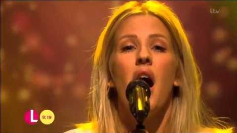 Ellie Goulding - Army (Live on Lorraine)