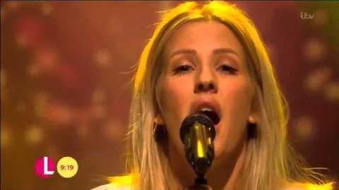 Ellie Goulding - Army (Live on Lorraine)