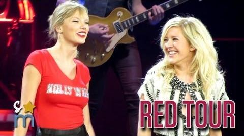 Taylor Swift & Ellie Goulding - Anything Could Happen at Staples Center