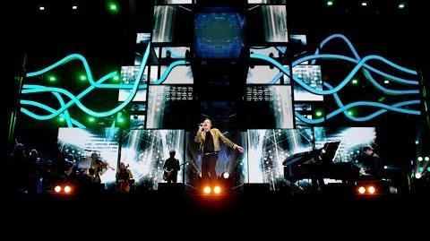 Calvin Harris - Blame Outside at BBC Music Awards 2014
